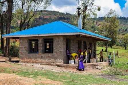 Kitchen building